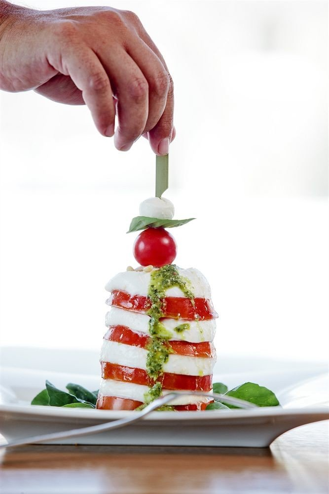 food plate plant strawberry piece land plant strawberries slice fruit vegetable flowering plant close