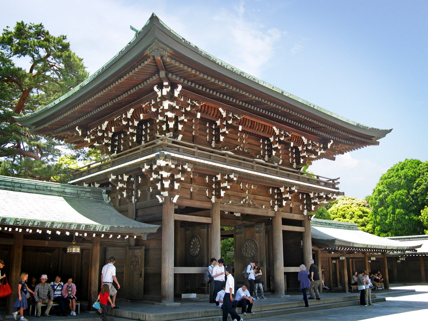 City Cultural Entertainment Resort Scenic views sky building outdoor chinese architecture historic site temple shinto shrine landmark people place of worship shrine palace tourism pagoda plaza square walkway