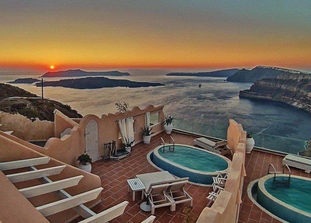sky water chair Sea Ocean Coast vehicle Resort Sunset set