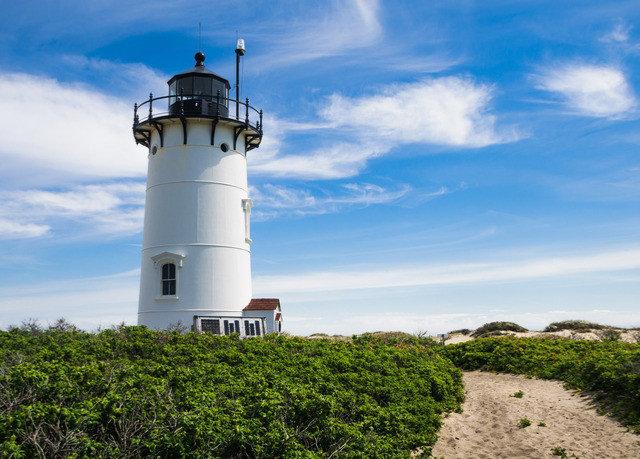 sky lighthouse tower building Coast Sea