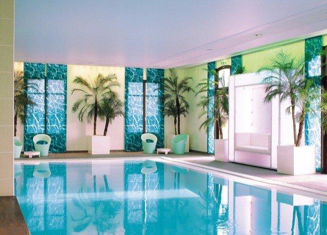 swimming pool property condominium mural painted