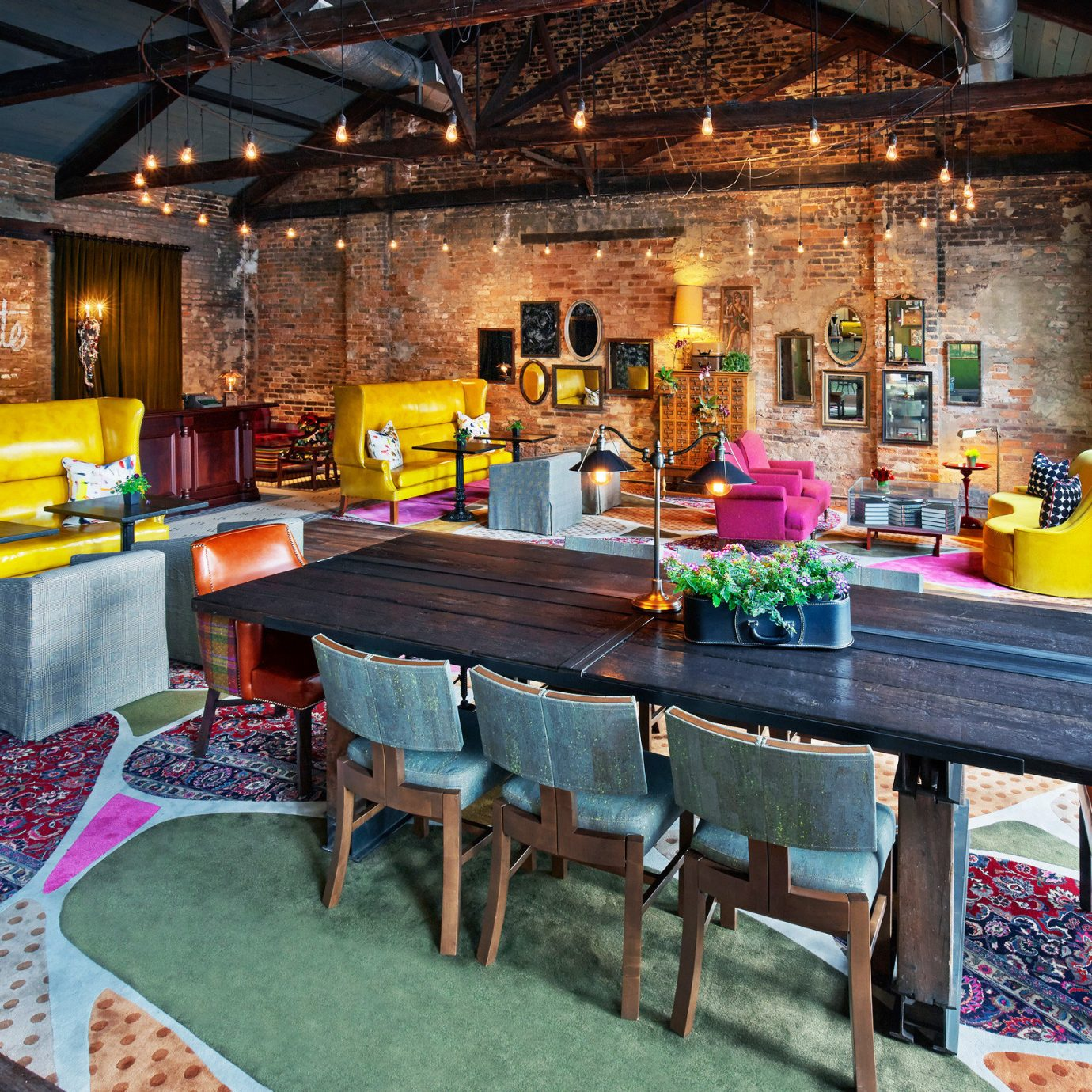 Country Dining Drink Eat Hip Luxury Modern recreation room home Resort restaurant cottage living room