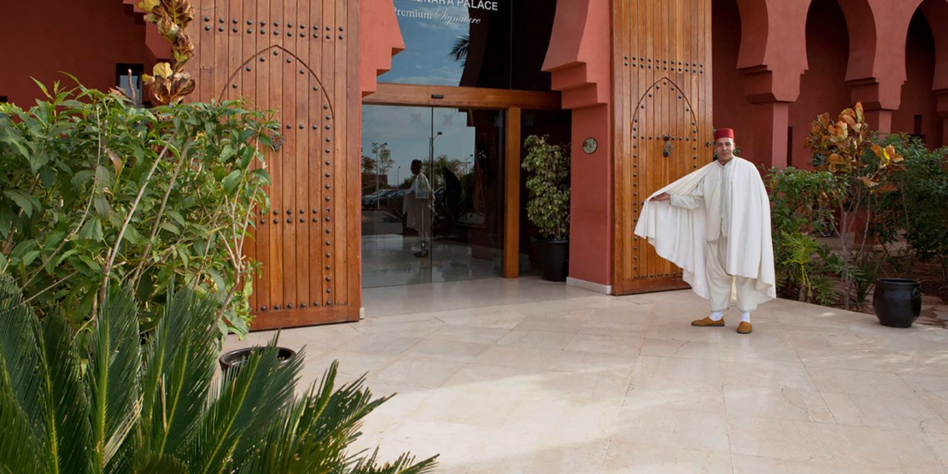 building house plant Courtyard home hacienda temple ancient history flooring arch