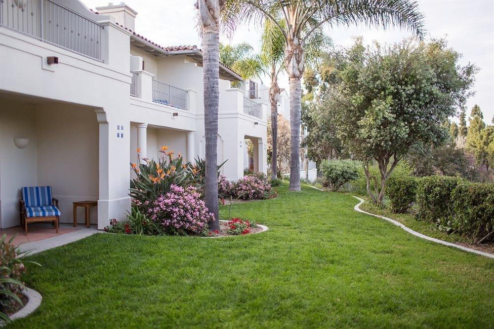 grass tree property lawn backyard house yard home Villa Courtyard Garden hacienda mansion cottage landscaping