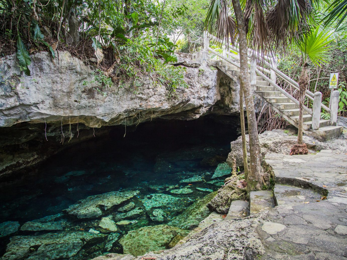 City Mexico Trip Ideas Tulum tree outdoor ground body of water water nature reserve rock water resources Nature watercourse stream landscape plant water feature mineral spring pond Jungle formation creek area stone dirt