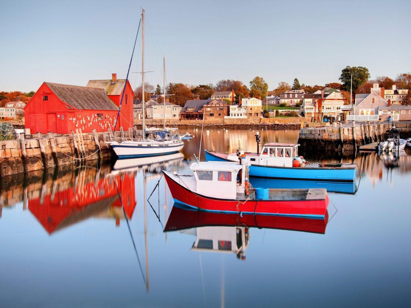 Trip Ideas sky water outdoor Boat scene Harbor vehicle marina dock reflection vacation Sea port cityscape tied