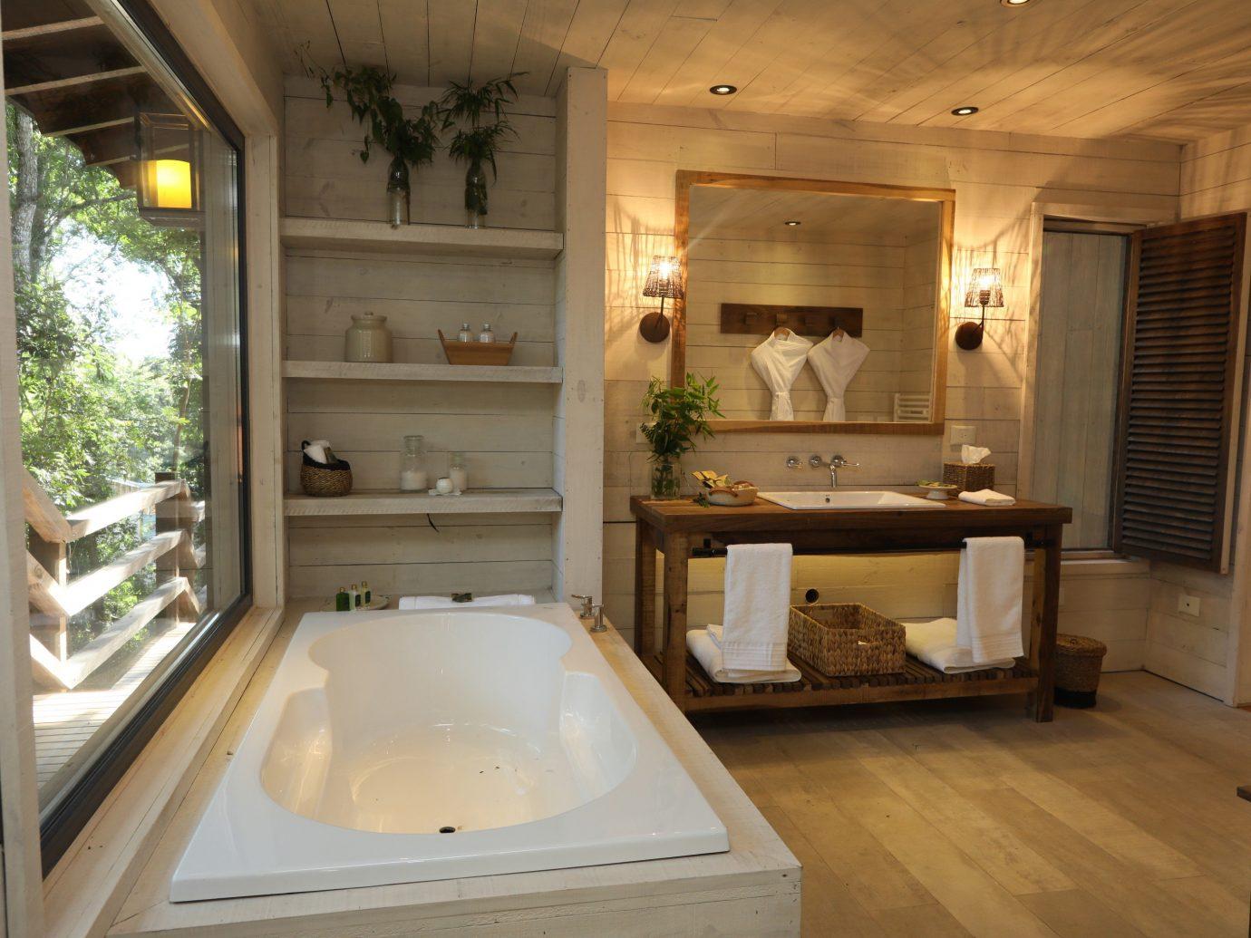 Hotels Outdoors + Adventure indoor window floor room bathroom interior design estate house tub