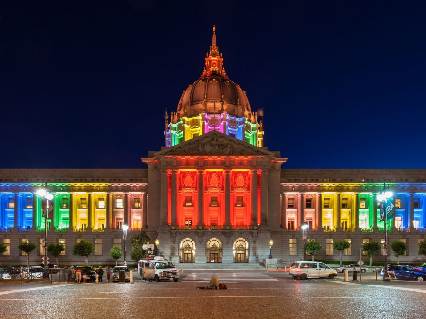 Trip Ideas building landmark outdoor night plaza City evening cityscape place of worship colorful colored
