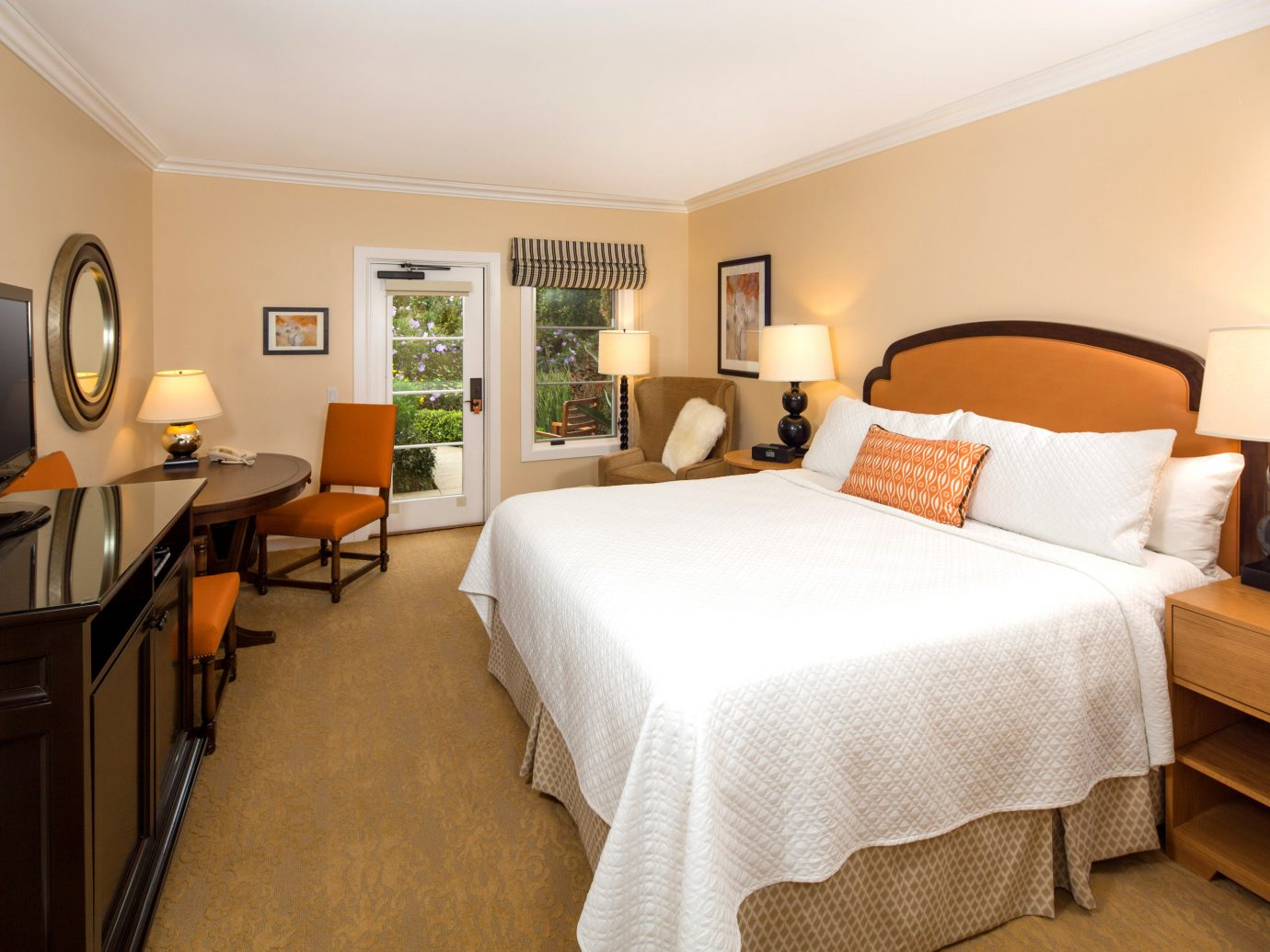 Bedroom At Estancia La Jolla Hotel And Spa, San Diego