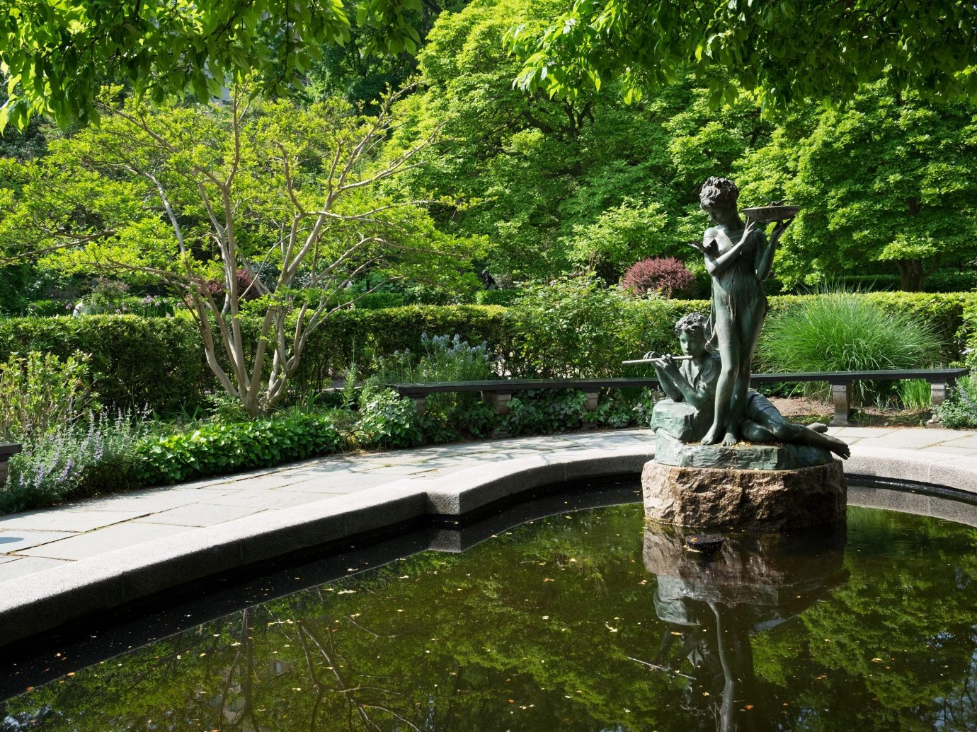 Travel Tips tree outdoor grass water Garden botany pond water feature reflecting pool backyard park plant estate botanical garden waterway flower reflection swimming pool fountain yard