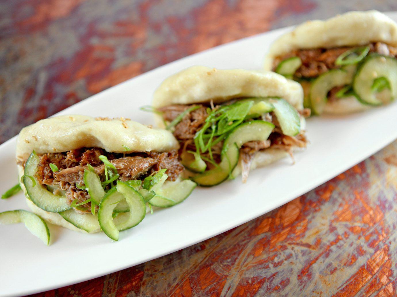 Food + Drink food plate dish indoor produce cuisine sandwich wrap vegetable flatbread sandwich meat mediterranean food snack food