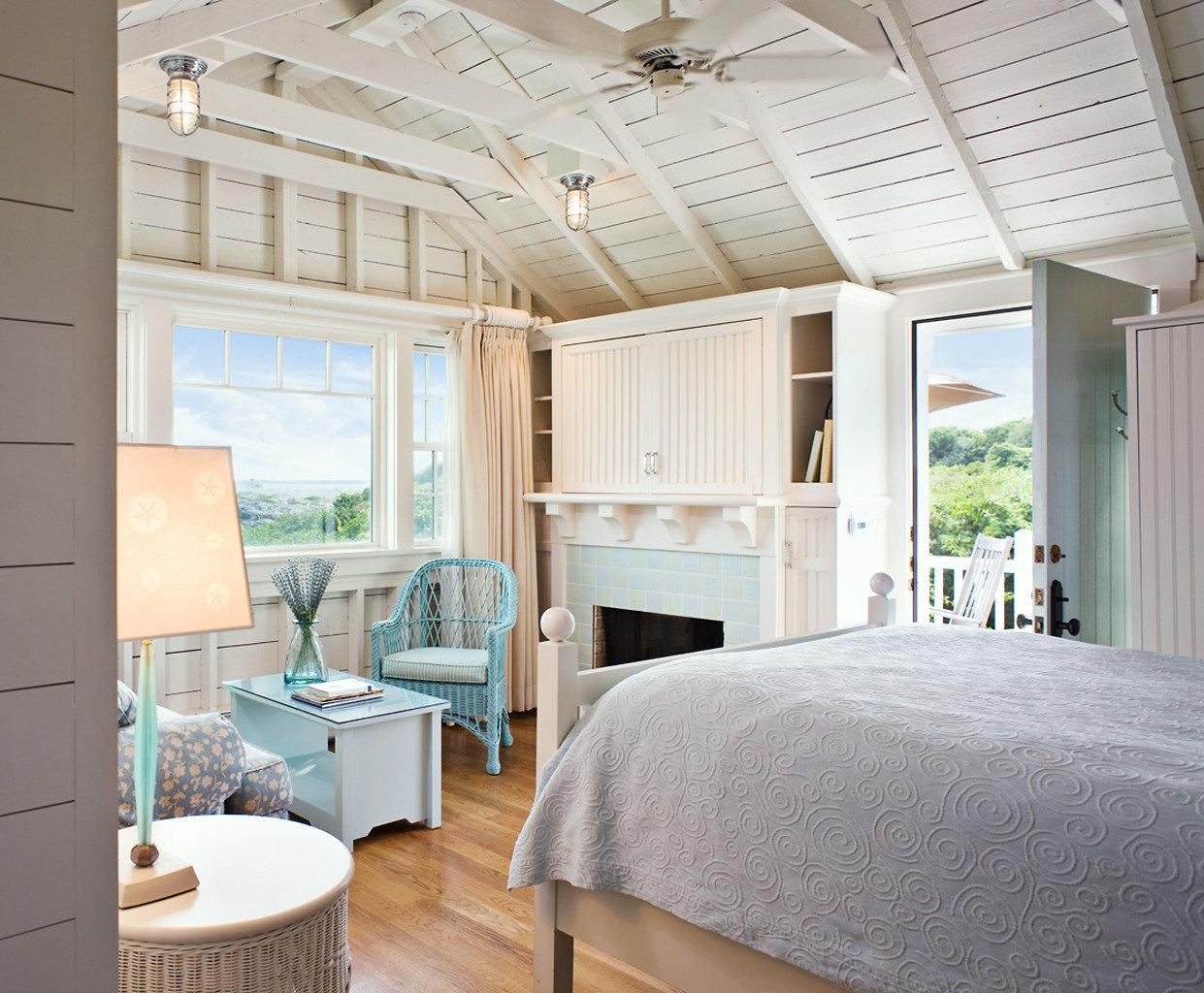 Bedroom at Castle Hill Inn, Newport, RI