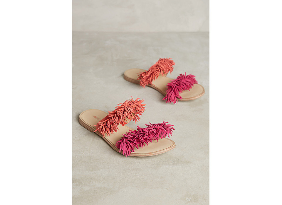 Style + Design footwear shoe slipper sandal outdoor shoe magenta