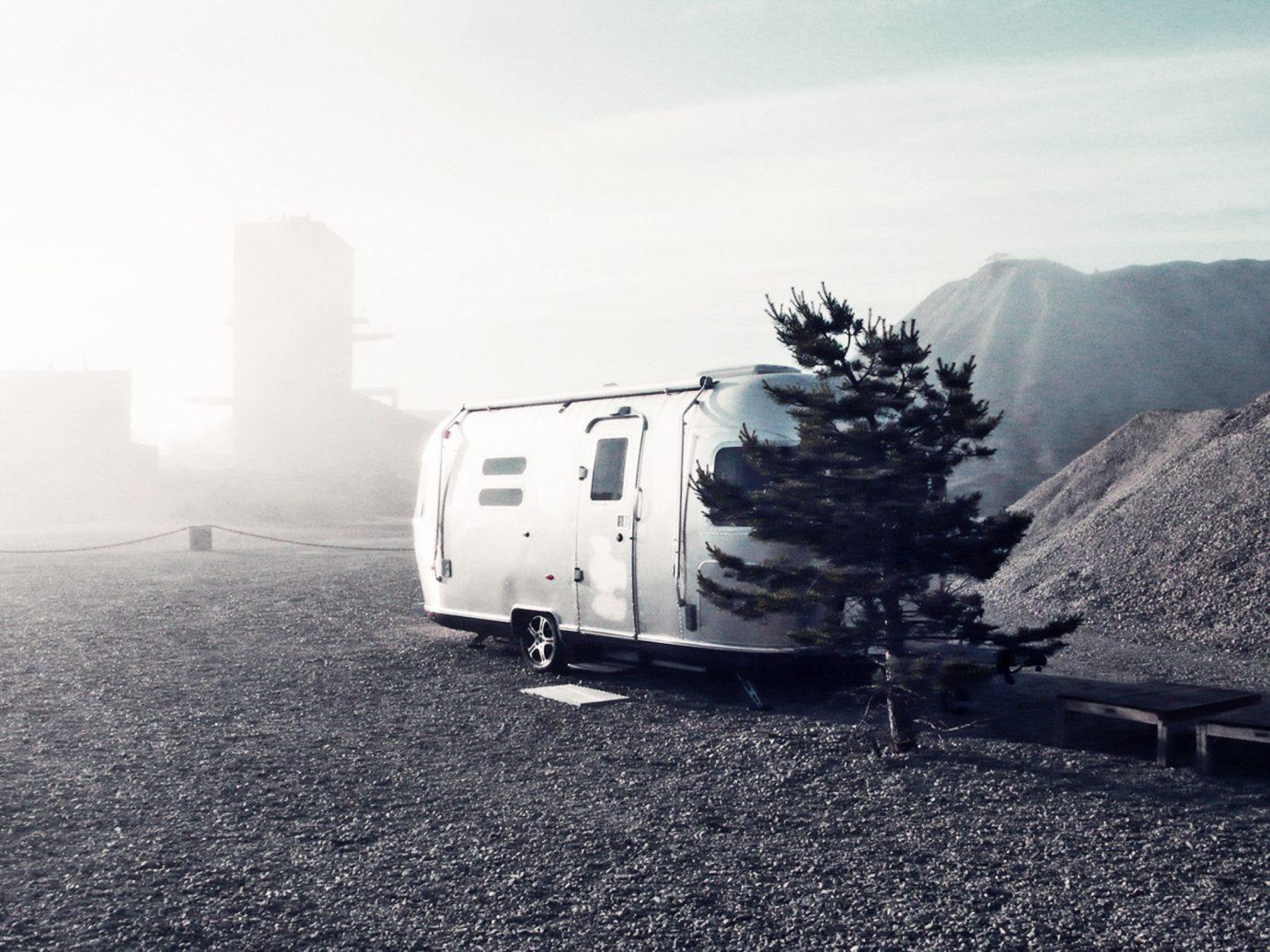 Boutique Hotels Sweden sky morning mountain road vehicle asphalt landscape Winter