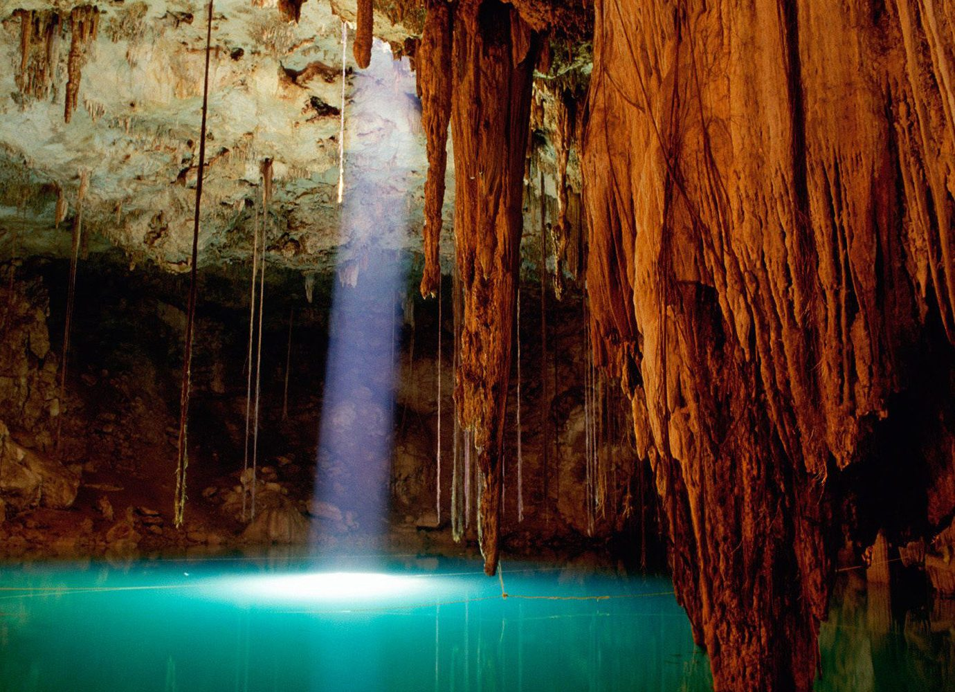Trip Ideas outdoor geographical feature landform cave Nature reflection formation sea cave stalactite
