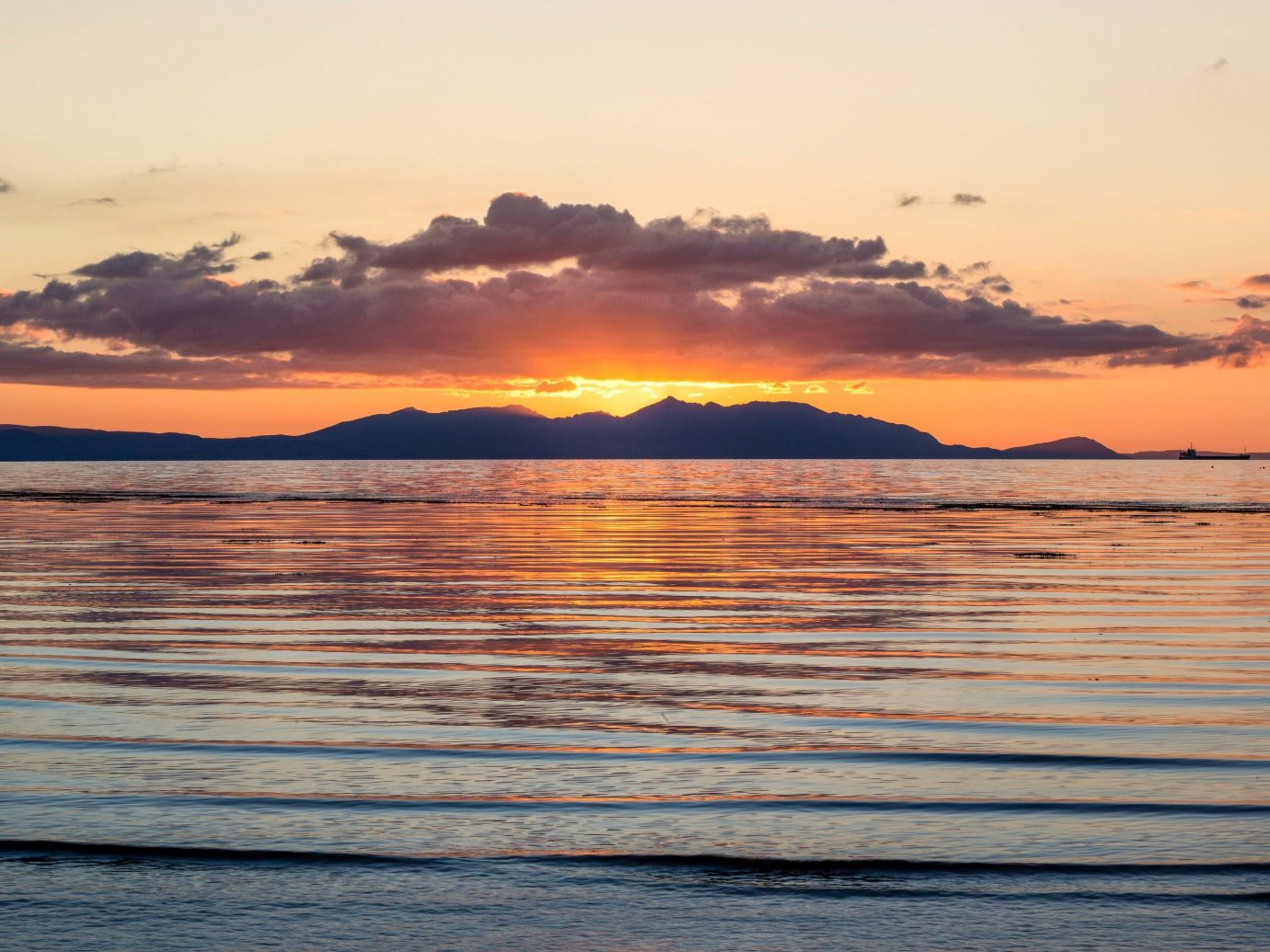 Trip Ideas sky outdoor water Sunset horizon Sea sunrise calm Ocean afterglow shore cloud morning Sun evening loch dawn sunlight wave reflection dusk wind wave red sky at morning clouds Lake