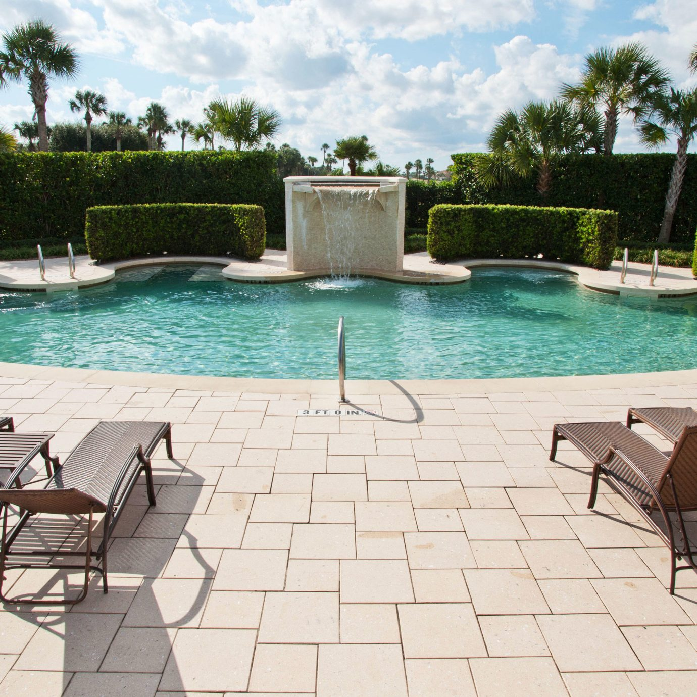 tree sky chair ground swimming pool property leisure backyard Villa lawn outdoor structure Patio Pool condominium yard cottage Deck