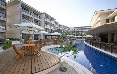 building condominium property Resort swimming pool Villa Deck plaza marina