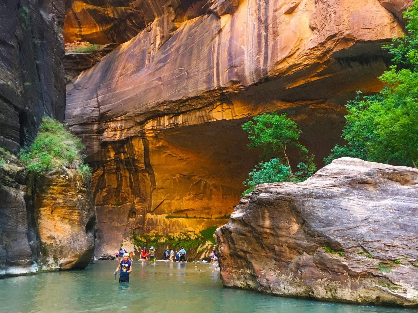National Parks Outdoors + Adventure Trip Ideas outdoor water Nature rock valley geographical feature landform mountain sea cave canyon River cave Sea wadi cliff formation terrain pond stone surrounded