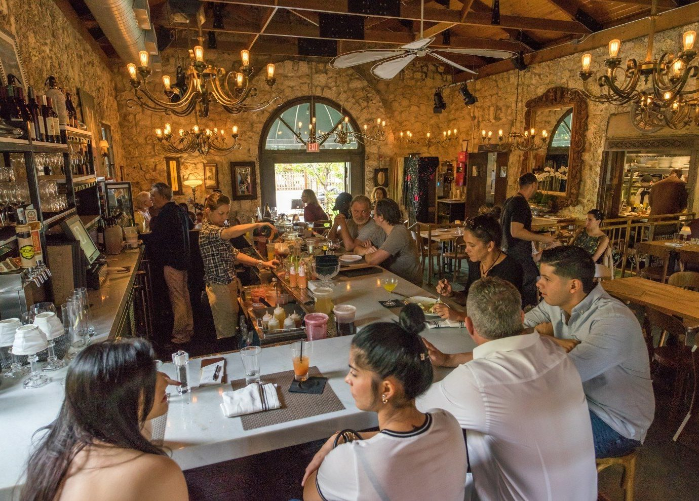 Trip Ideas person indoor restaurant meal people Bar