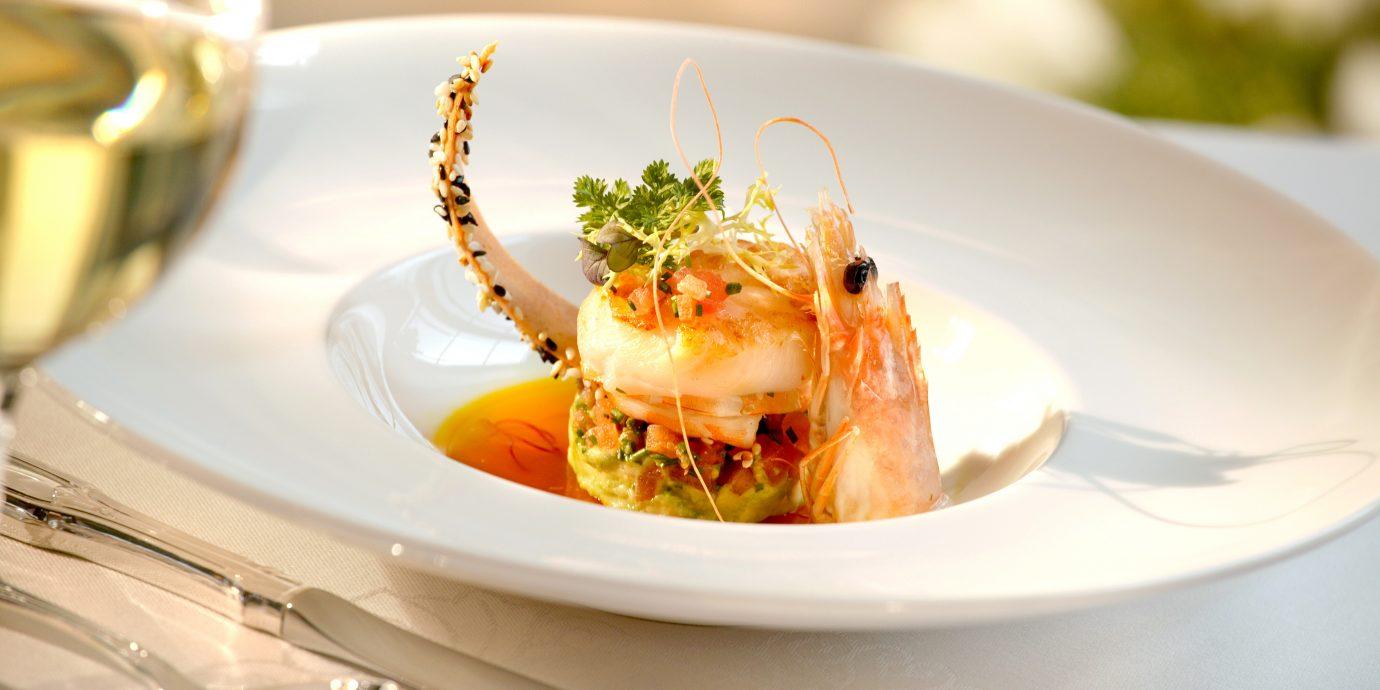 Dining Drink Eat Resort plate food restaurant cuisine Seafood piece de resistance