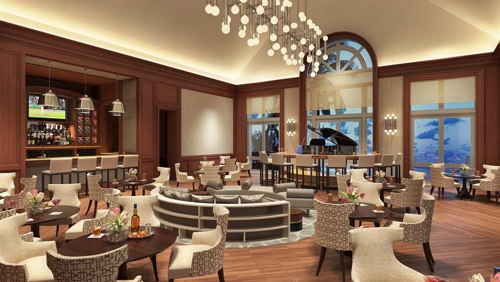 chair Lobby function hall restaurant Resort Dining living room Modern Island