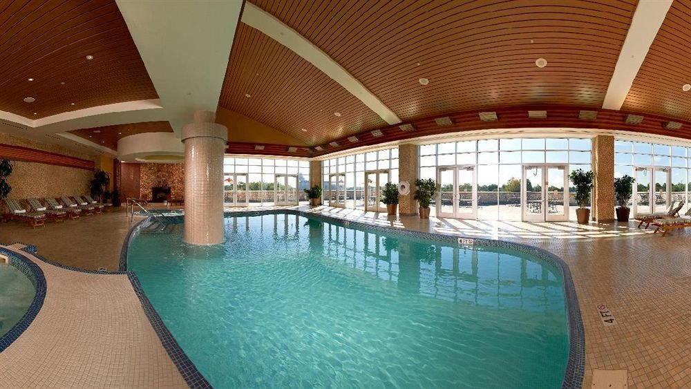 swimming pool leisure property Resort building leisure centre Dining convention center empty colonnade