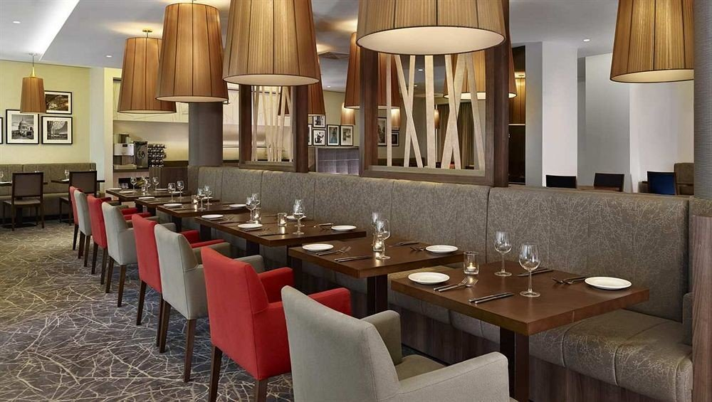 restaurant function hall dining table