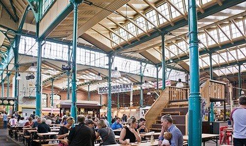 Budget building person people market public space City station fair crowd