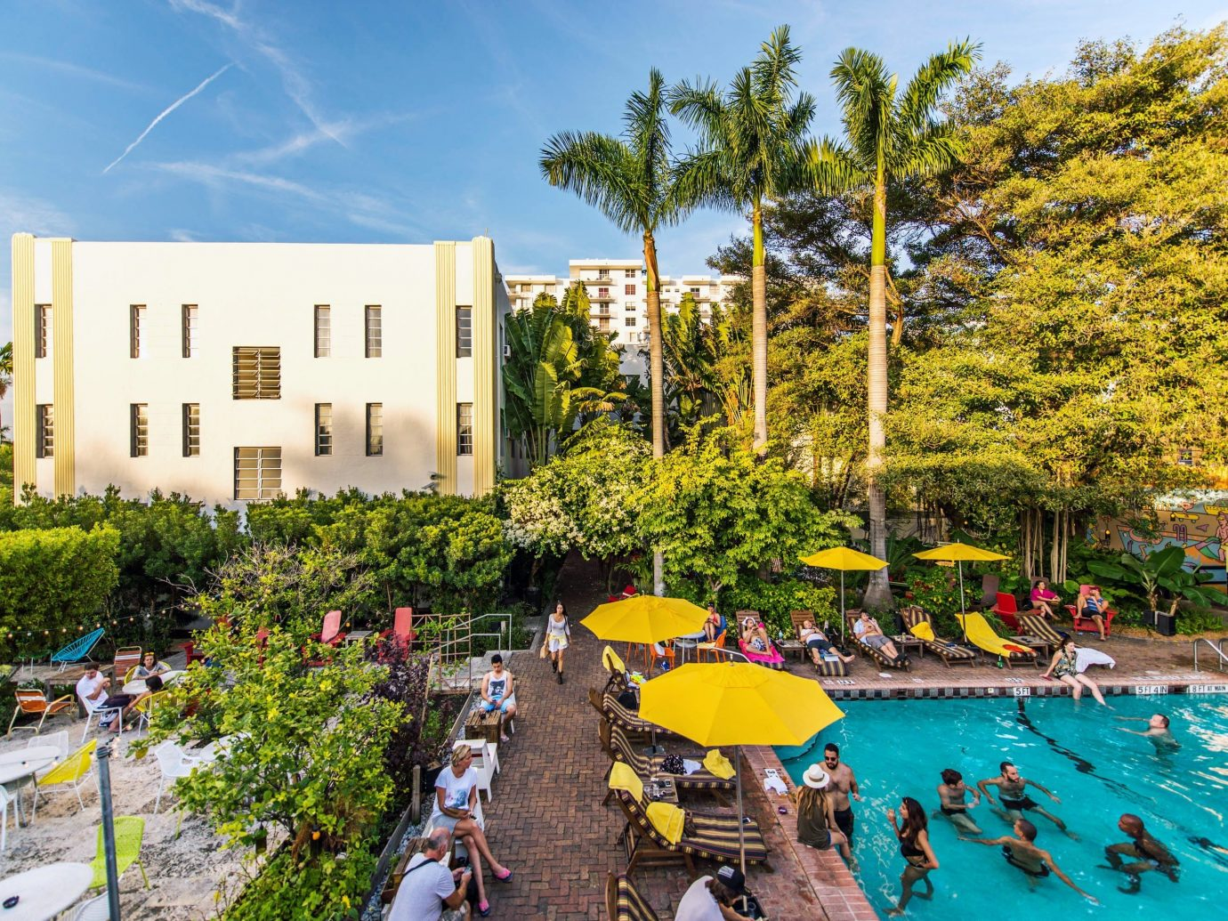 Hotels tree sky outdoor leisure neighbourhood estate Resort vacation tourism residential area day