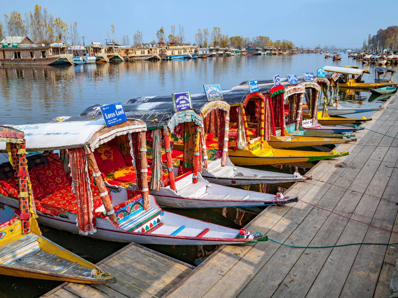 India Jaipur Jodhpur Trip Ideas sky outdoor water waterway body of water water transportation scene Boat boating watercraft Harbor recreation Canal watercraft rowing vehicle tourism dock leisure channel lined several line colored