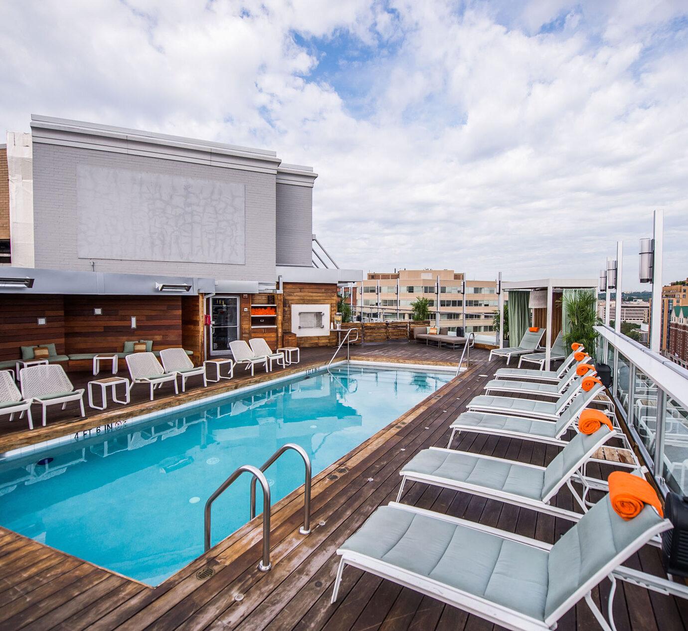 pool at Donovan Hotel