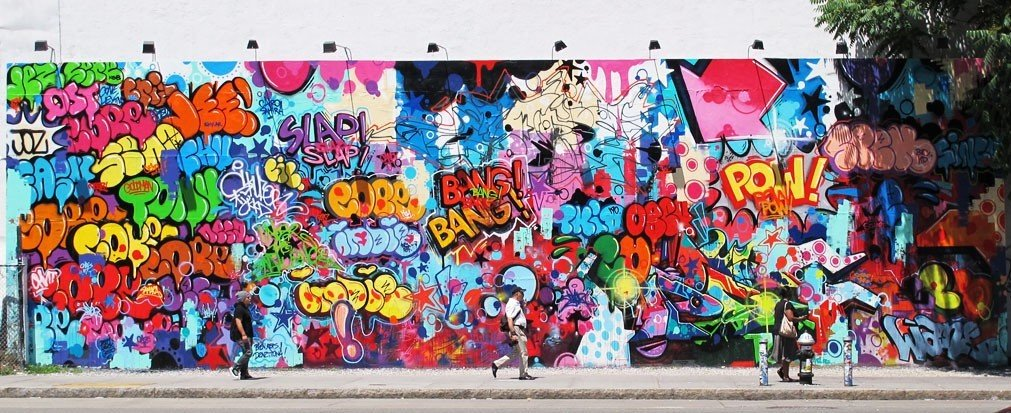 Arts + Culture color graffiti colorful mural art street art modern art painting painted decorated colored