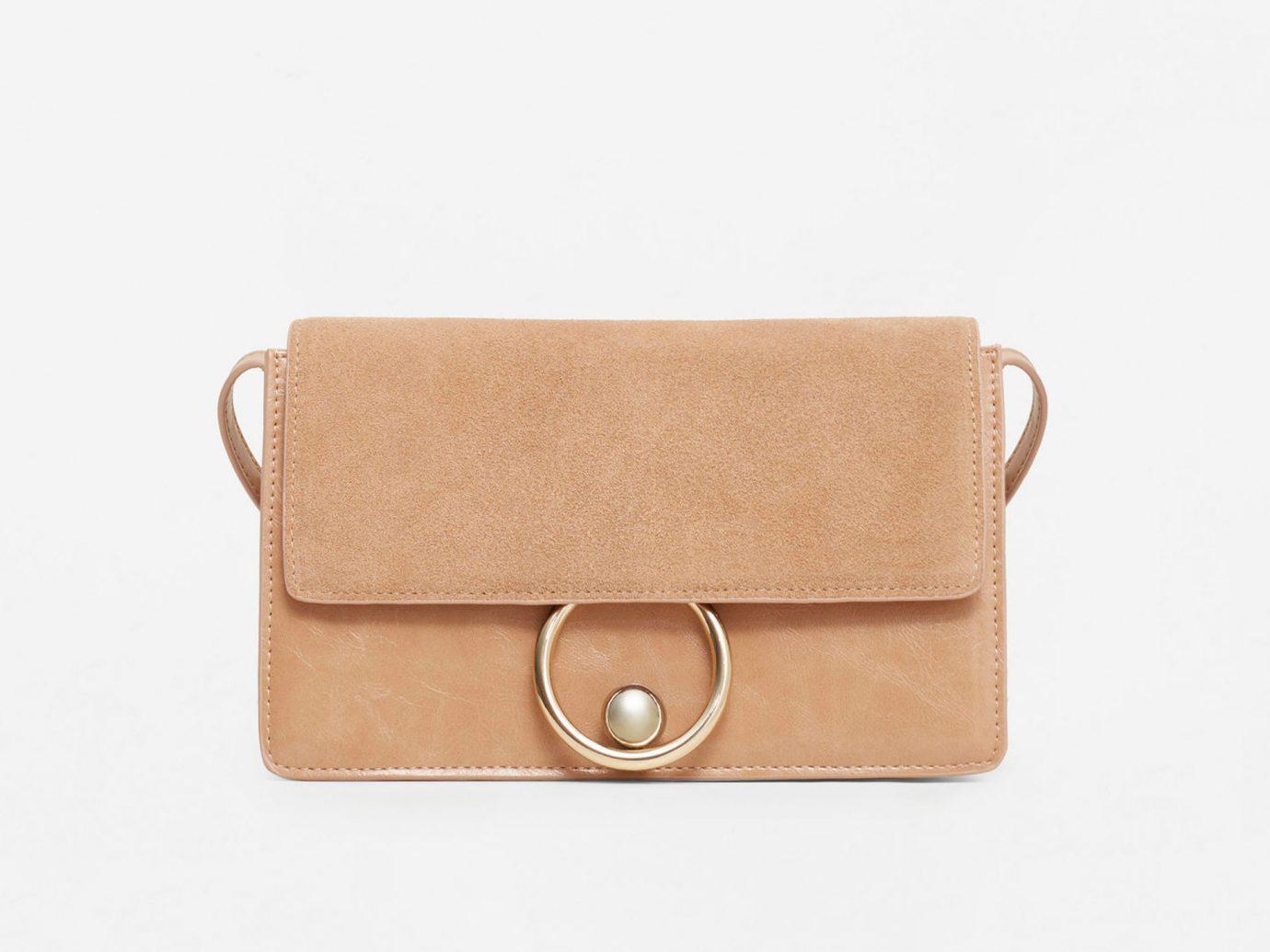 Style + Design accessory case bag brown handbag leather fashion accessory shoulder bag beige brand coin purse textile wallet