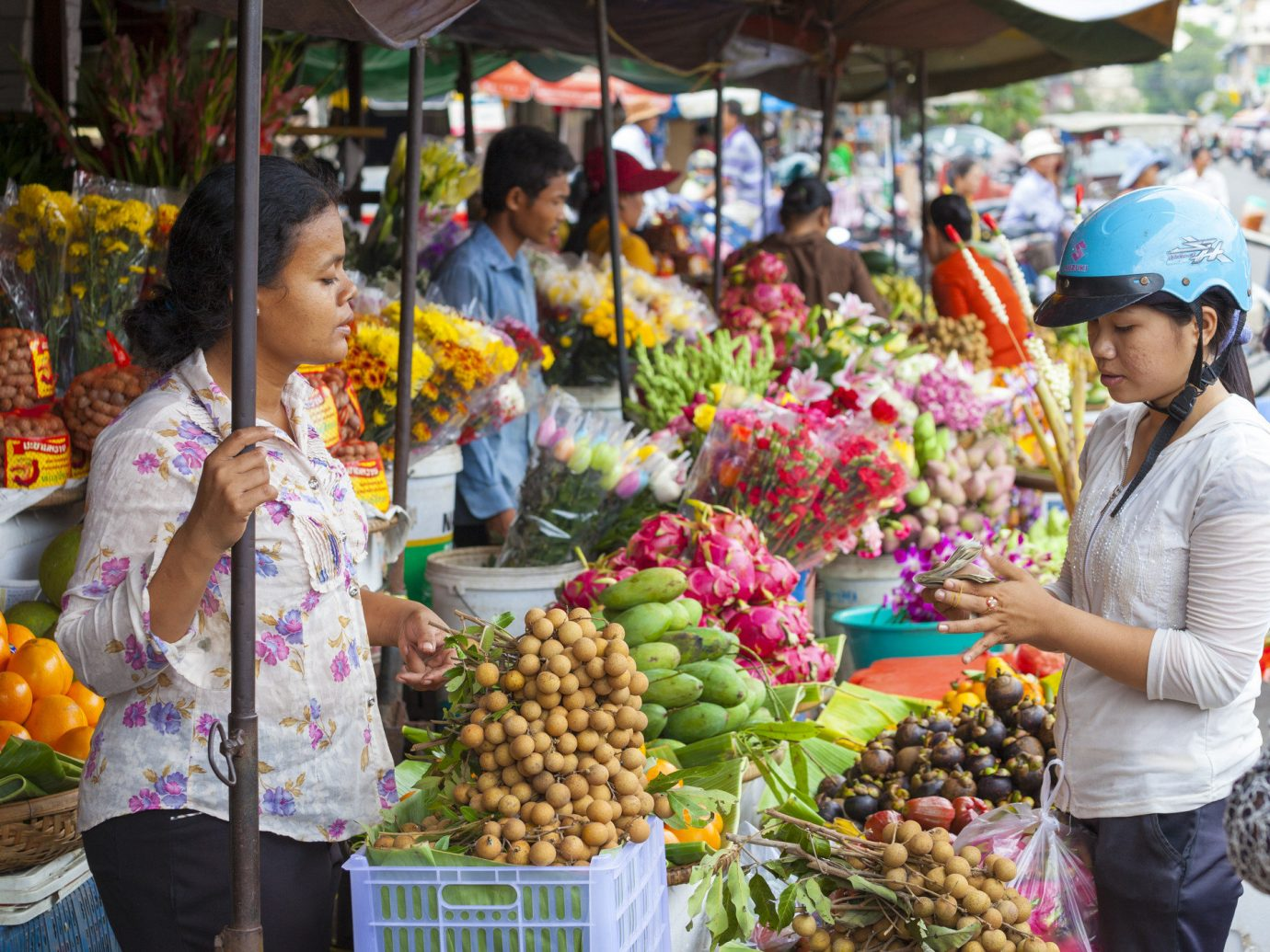 Trip Ideas Winter person marketplace produce market fruit outdoor vendor food local food public space yellow scene bazaar vegetable greengrocer selling stall natural foods City people plant floristry hawker fresh shopkeeper grocer sale