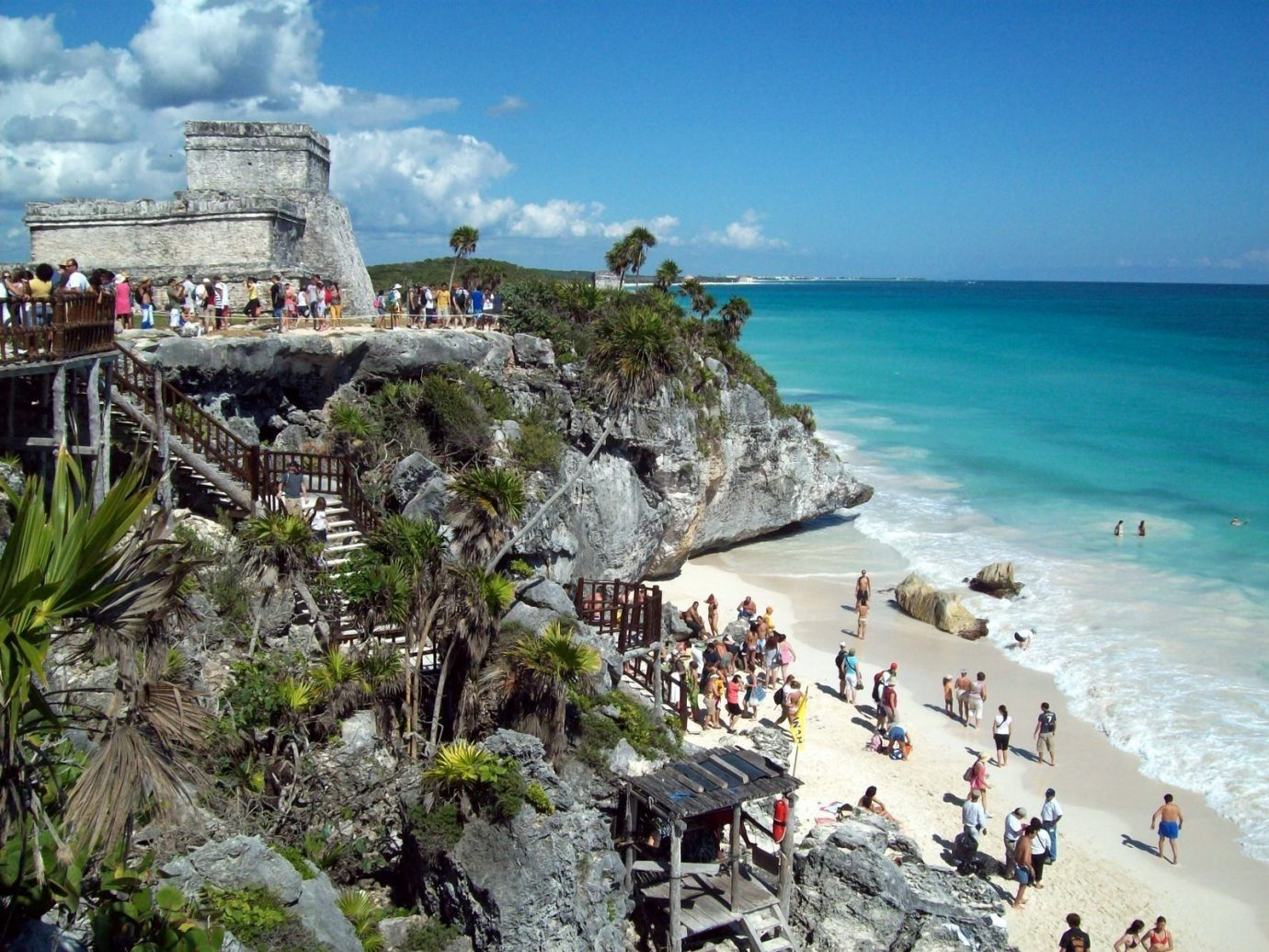 Mexico Trip Ideas Weekend Getaways outdoor sky water Nature Coast Sea people vacation Beach tourism Ocean bay cape terrain cliff caribbean Resort cove travel shore day