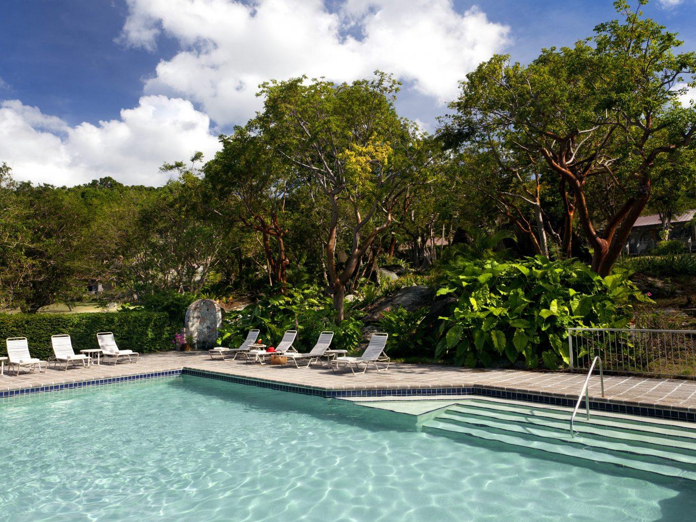 Eco Family Luxury Pool Resort Romantic Tropical tree swimming pool property reflecting pool Villa backyard