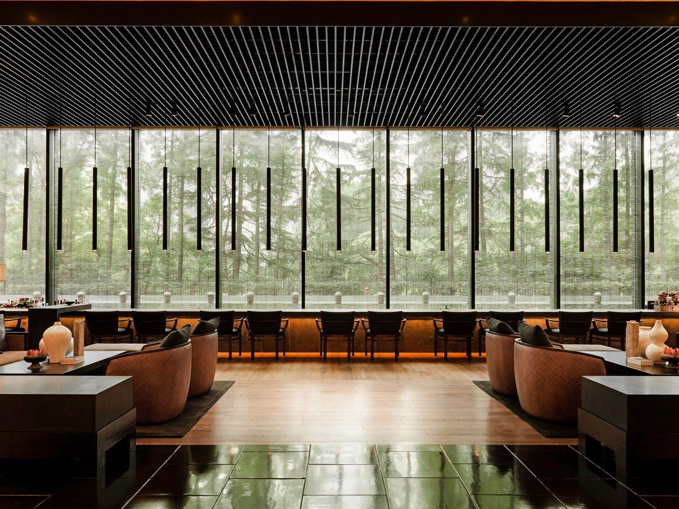 Boutique Hotels Luxury Travel Lobby indoor Architecture interior design ceiling daylighting building facade condominium several