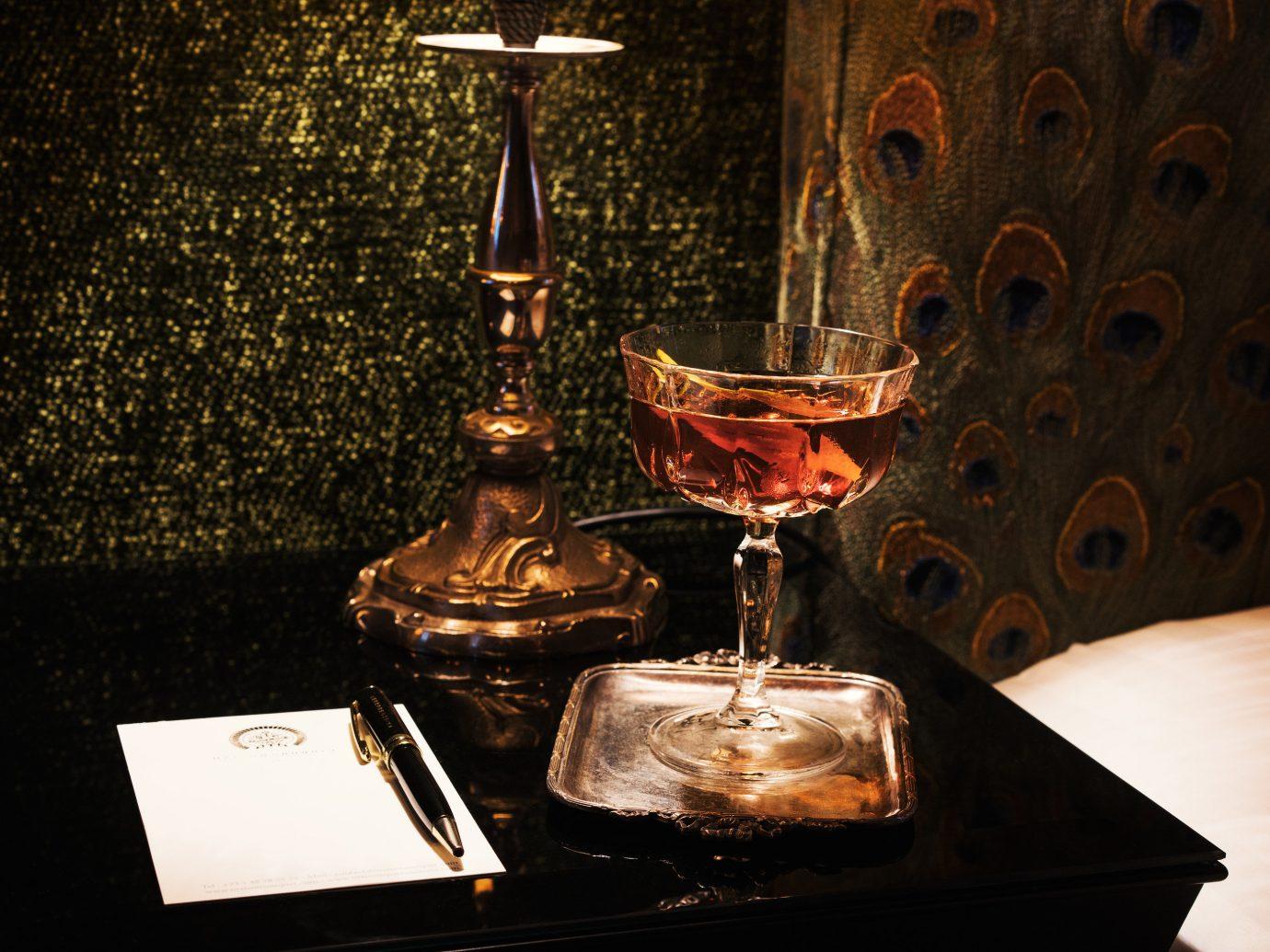 France Hotels Paris table indoor still life photography light darkness lighting glass Drink still life distilled beverage