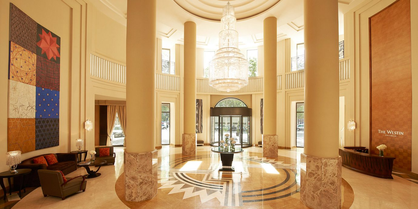 Elegant Hip Lobby Lounge Modern property home mansion hardwood living room wood flooring Suite