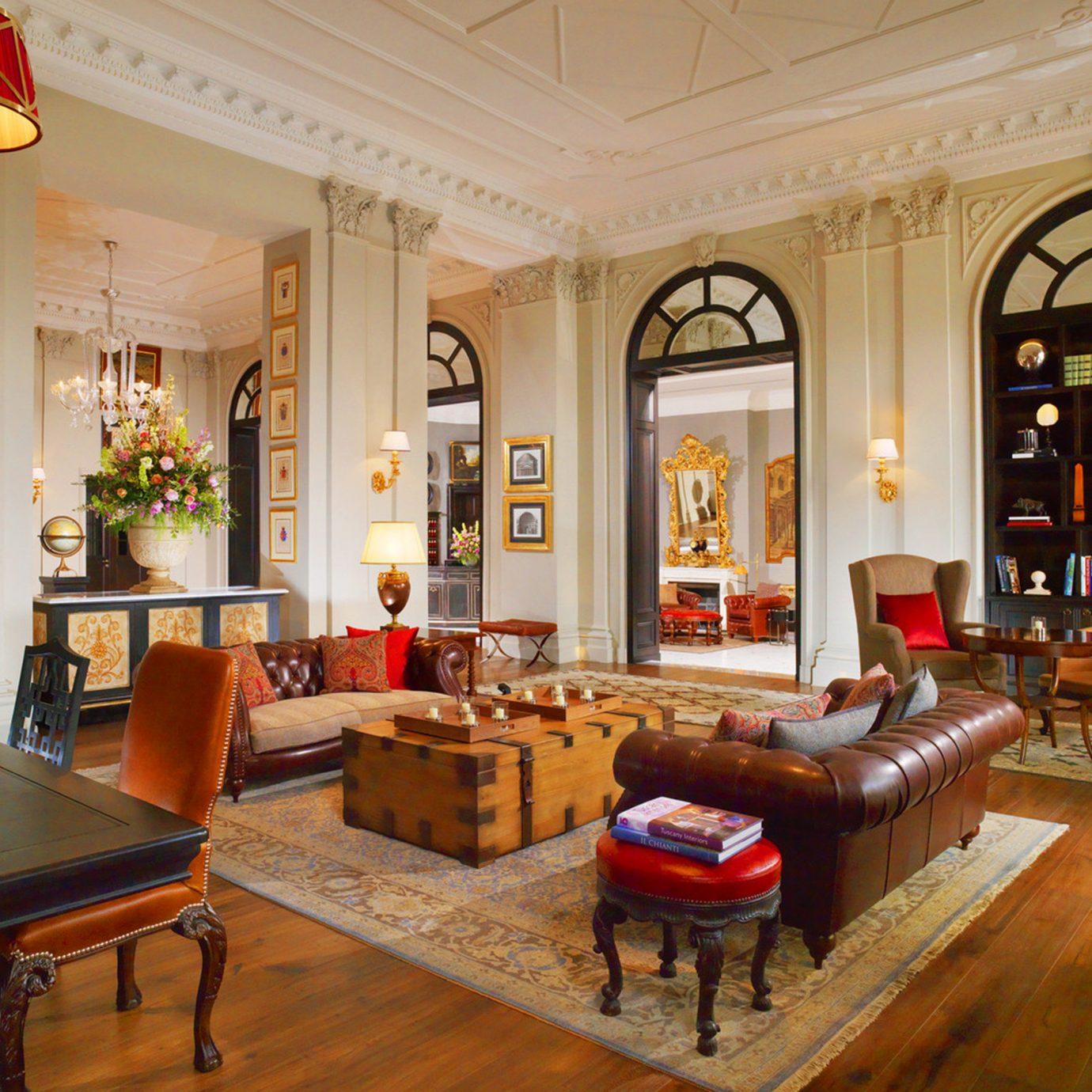 Elegant Historic Hotels Lounge Luxury Romance property living room home recreation room Lobby mansion