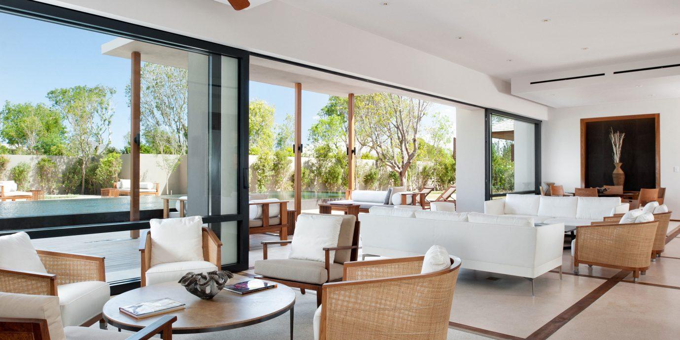 Elegant Honeymoon Island Lobby Lounge Luxury Waterfront property living room condominium home Villa Suite