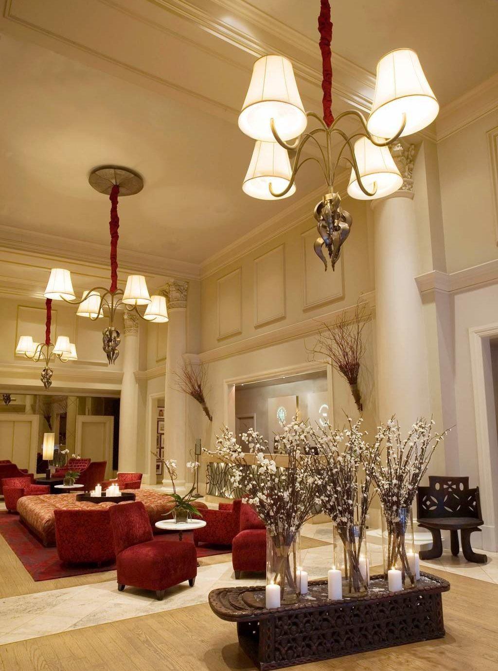 Elegant Lounge living room home lighting Lobby