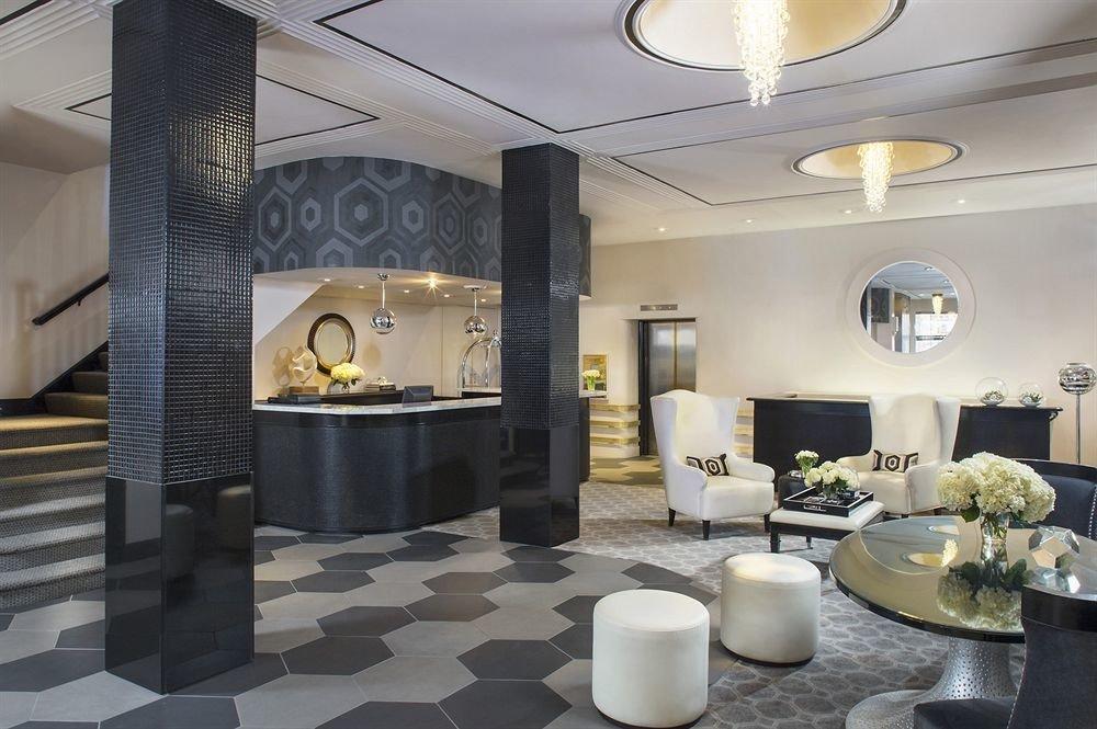 Elegant Lounge Luxury Modern property Lobby condominium lighting living room