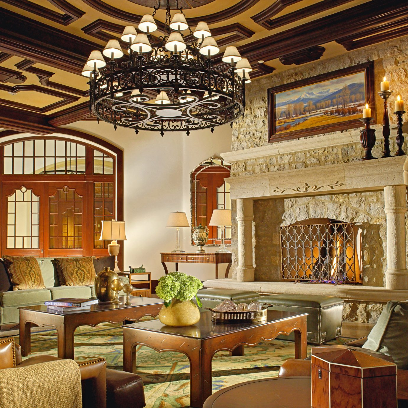 Elegant Lounge Resort chair property living room home mansion palace Lobby