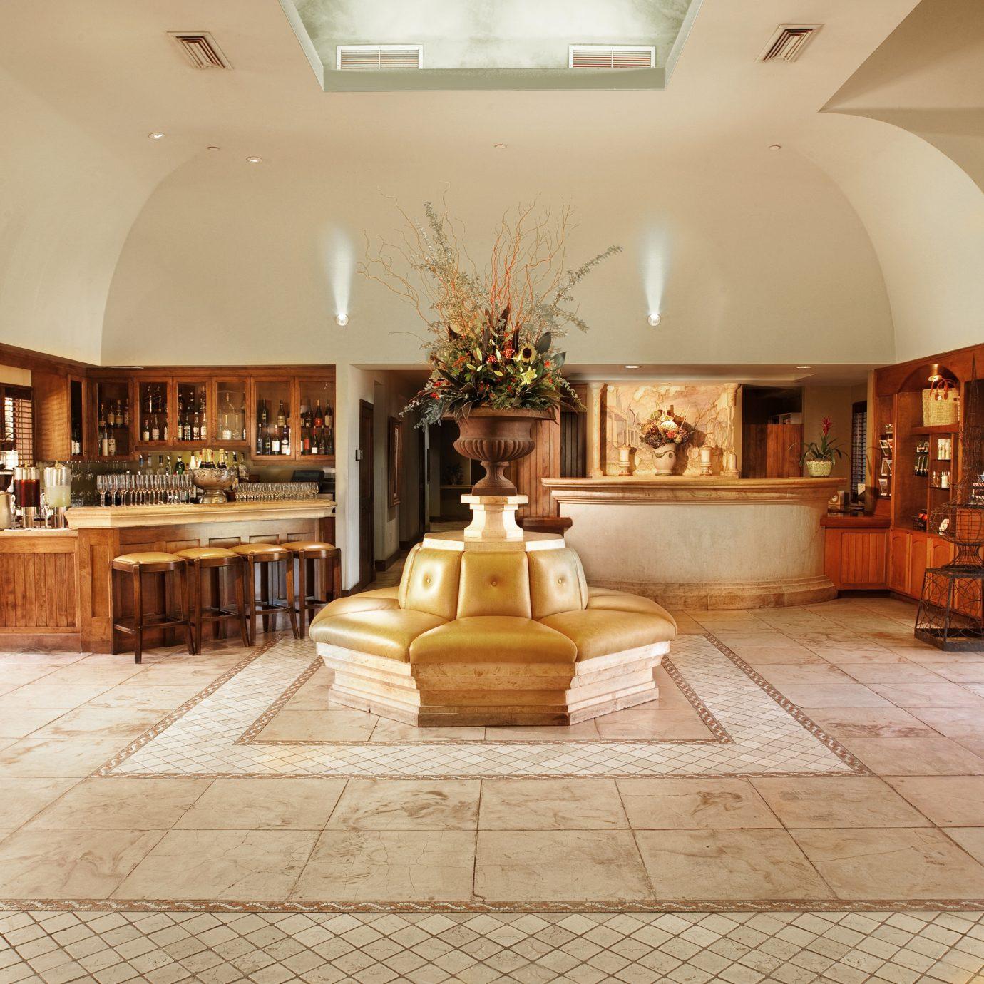 Elegant Lobby Lounge property living room home mansion hardwood wood flooring flooring Villa stone