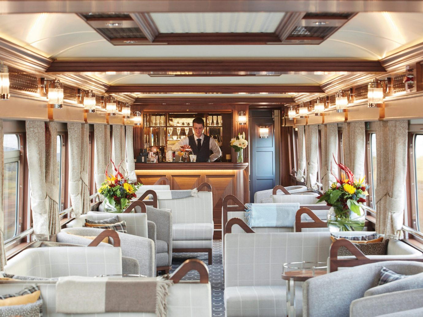 Trip Ideas indoor ceiling window room Boat Lobby yacht vehicle estate passenger ship interior design living room home meal function hall window covering mansion furniture