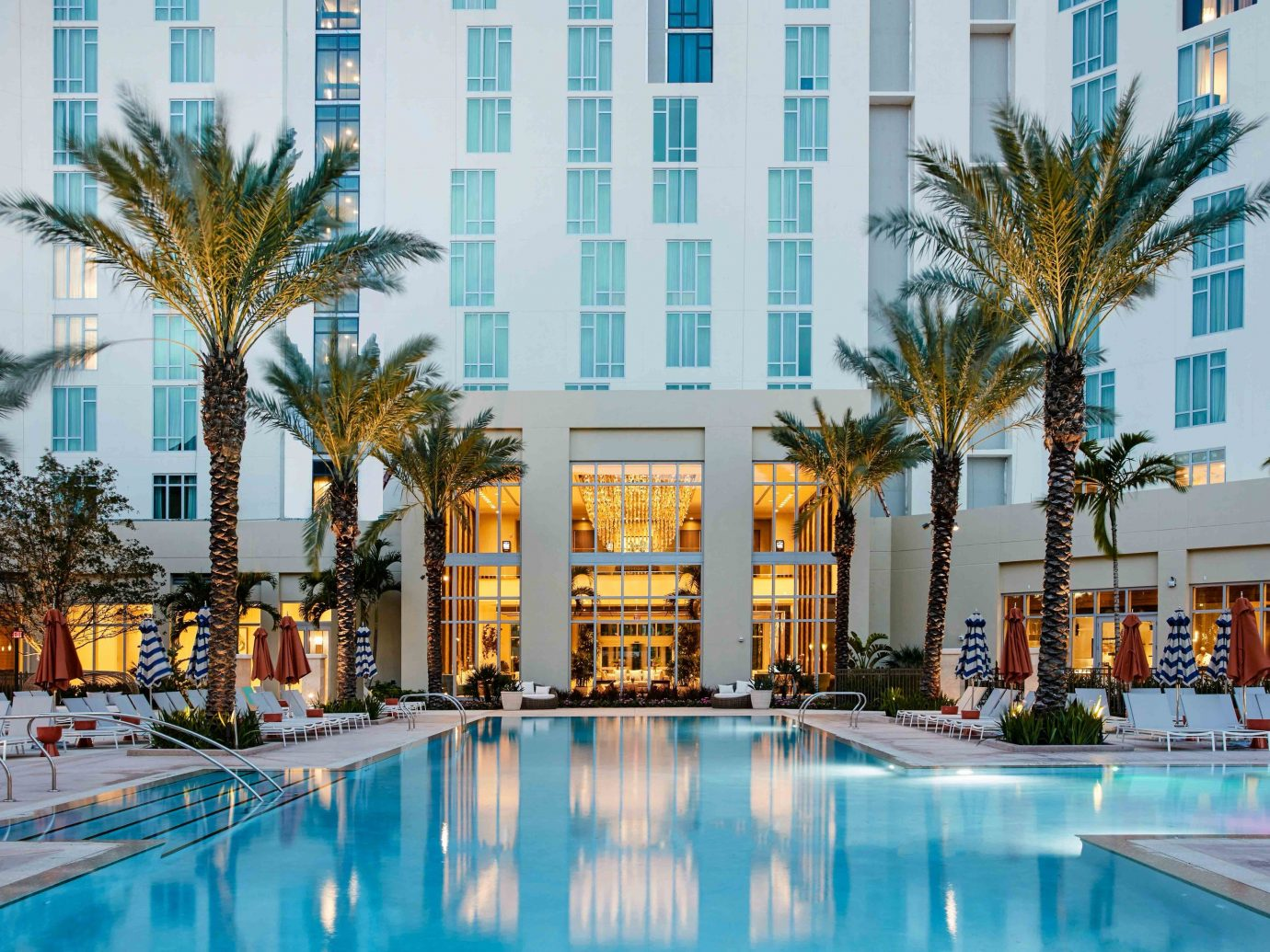 Florida Miami Trip Ideas Weekend Getaways Resort swimming pool mixed use palm tree arecales hotel condominium leisure real estate building apartment tree recreation vacation water City tourism