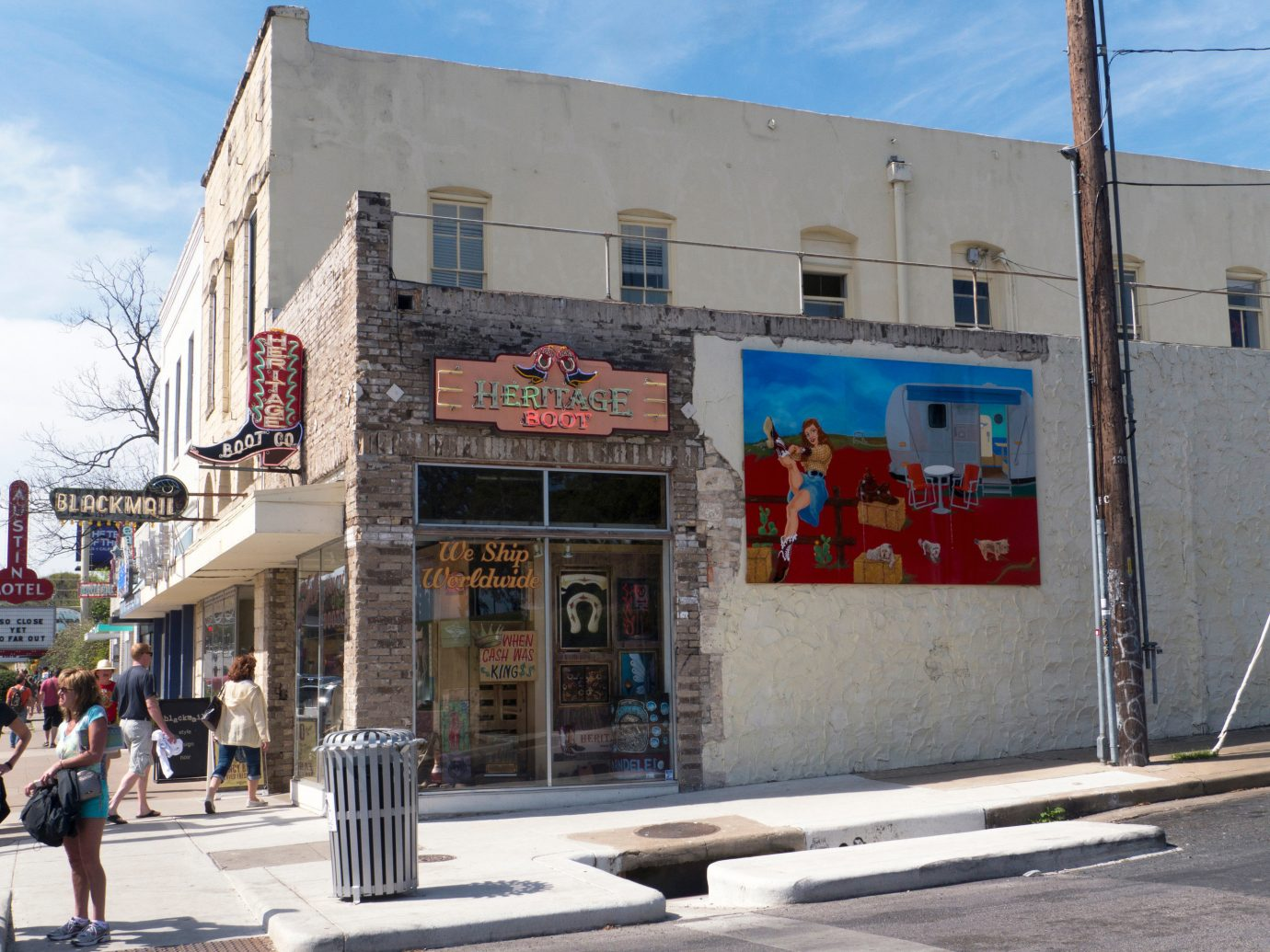 Boot shop in Austin, TX