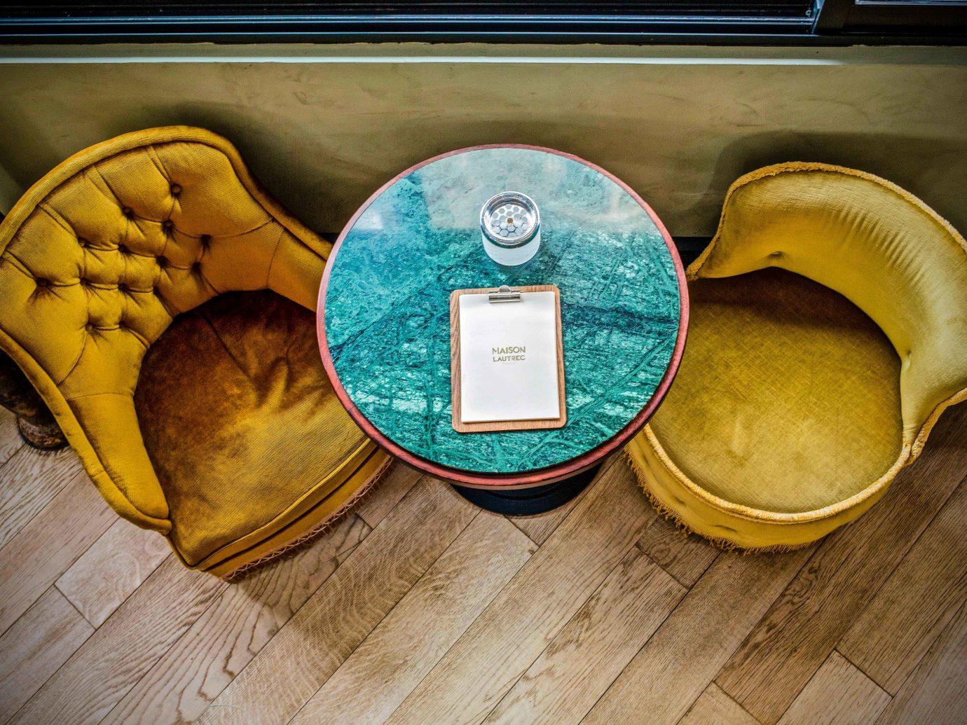 Food + Drink France Paris floor yellow wooden